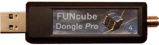 Picture of the FunCube Dongle Software Defined Radio